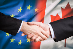 CETA-concept royalty-vrije stock fotografie