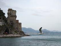 Cetara amalfi coast. Cetara, beautiful Mediterranean village on Amalfi Coast Costiera Amalfitana in Campania, Italy unesco Royalty Free Stock Photos