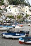Cetara amalfi coast stock image