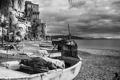 Cetara old fishing village Amalfi coast stock photo