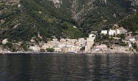 Cetara. Is a small town overlooking the Amalfi Coast Stock Photography