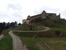 Cetatea Medievala Rasnov royalty-vrije stock afbeeldingen