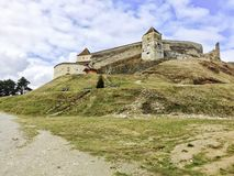 Cetatea Rasnov Zdjęcia Royalty Free