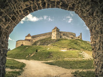 Cetatea Rasnov/citadelle de Rasnov Images libres de droits