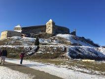 Cetatea Rasnov imagenes de archivo