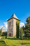 Cetatuia Monastery stock photos