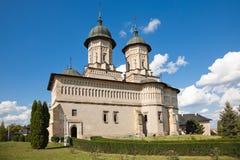 Cetatuia Monastery stock photography