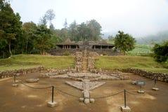 Cetho寺庙/Candi Cetho,位于Karanganyar, Java,印度尼西亚 库存图片