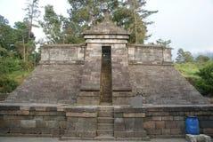 Cetho寺庙/Candi Cetho,位于Karanganyar, Java,印度尼西亚 库存照片