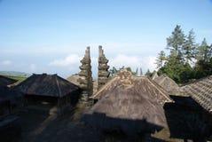 Cetho-Tempel bei Jawa Tengah, Indonesien stockbilder