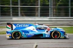 Cetilar Villorba Corse Dallara sporty Prototypowi Fotografia Stock