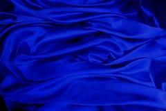 Cetim azul Imagem de Stock