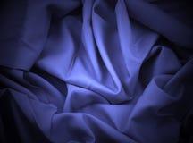 Cetim azul com projector Foto de Stock