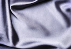 Cetim azul elegante Imagem de Stock Royalty Free