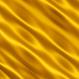 Cetim do ouro Fotos de Stock