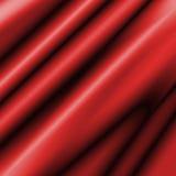 Cetim vermelho liso Fotografia de Stock Royalty Free