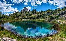 Cetina źródło wody w Chorwacja Zdjęcia Stock