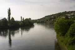 Cetina-Fluss Lizenzfreies Stockbild
