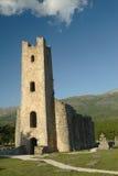 cetina gammala kyrkliga croatia Royaltyfri Fotografi