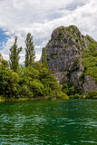Cetina River Canyon Royalty Free Stock Photo