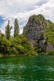 Cetina River Canyon Royalty Free Stock Photo