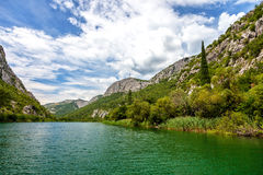 Cetina River Canyon Royalty Free Stock Image