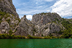 Cetina River Canyon Stock Image