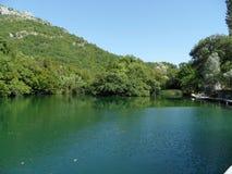 Cetina river. In Croatia in Europe royalty free stock photos