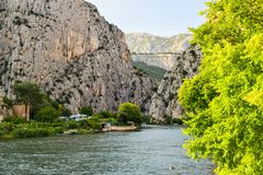 The Cetina River royalty free stock images