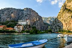 The Cetina River stock image