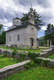 Cetinje, Μαυροβούνιο (η αρχαία πρωτεύουσα του Μαυροβουνίου) στοκ φωτογραφίες