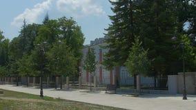 Cetinje Blue Palace stock video