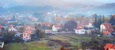 Cetinje in the dusk Stock Image
