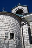 cetinje kościół zdjęcia royalty free