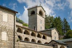 Cetinje medieval Monastery, Montenegro Royalty Free Stock Photos
