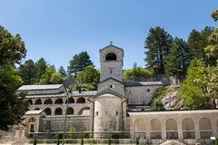Cetinje Monastery is a Serbian Orthodox monastery. Montenegro stock photo
