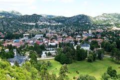 Cetinje Montenegro immagine stock