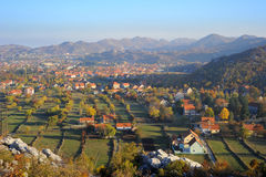 Cetinje, Montenegro Royalty Free Stock Photography