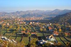 Cetinje, Montenegro Fotografia Stock Libera da Diritti