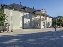 Cetinje, Montenegro, Europa, o assento real antigo fotos de stock royalty free