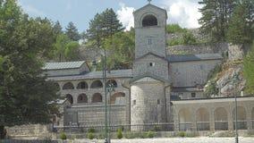 Cetinje old monastery stock video
