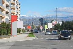 Cetinjski Put street Stock Photography
