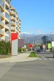 Cetinjski Put street Stock Photo