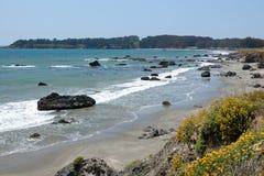 cetral California wybrzeże Zdjęcie Royalty Free