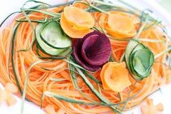 Cetriolo e barbabietola della carota Immagini Stock Libere da Diritti