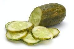 Cetriolo salato. Immagine Stock