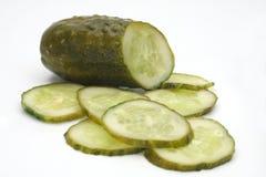 Cetriolo salato. Fotografia Stock Libera da Diritti