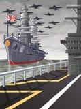Cette image est une guerre mondiale de vecteur illustration libre de droits