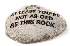 Cette roche Image stock