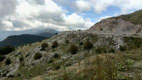 Cette vue est de vieux bâti en Bulgarie Photo libre de droits